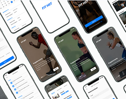 fit HIIT app UI & UX CASE STUDY