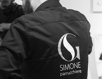 SIMONE parrucchiere - logo design