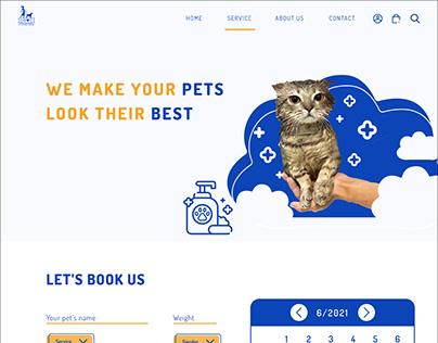 PEOC Website (School Project)