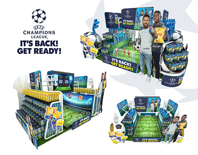 PEPSI LAYS Display Champions League
