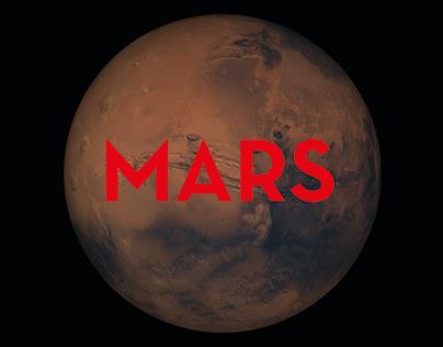Mars - Infographic Design