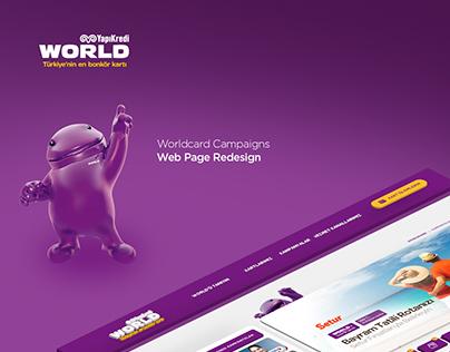 Worldcard Redesign
