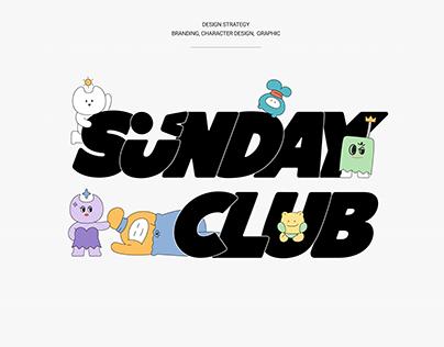 SUNDAY CLUB_ Character Design