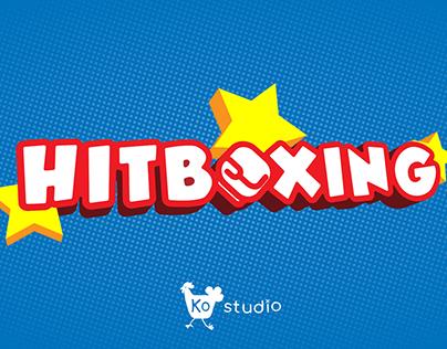 HITBOXING game logo, art & coding