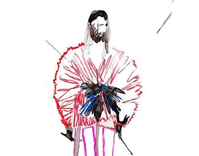 "Costume Design for film ""UnderWeAre"""