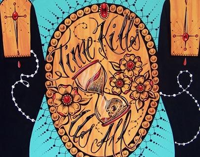 Time Kills Us All Tattoo Bodysuit
