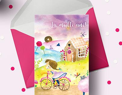 Illustrated Birthday Cards