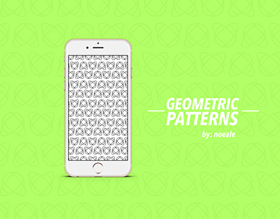 Geometric Patterns   Wallpapers & Cover Design