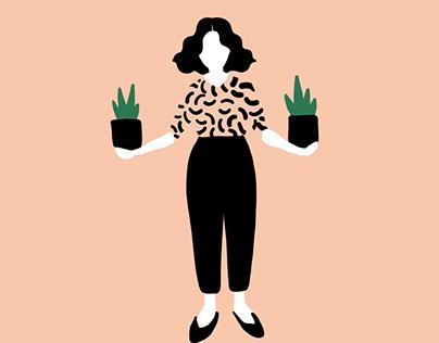 Illustrations- Minimalist