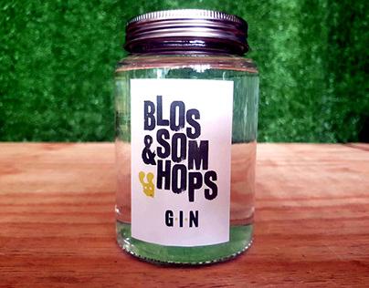 Blossom & Hops Gin Rebrand