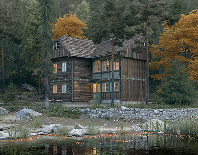 Finland - Forest House