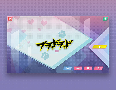 Video Game UI Design - Untitled Anime Game
