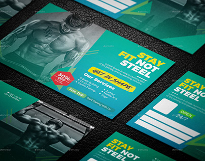 Fitness Post Card