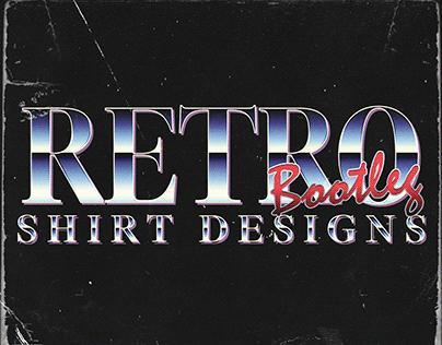 Pre-Made Retro Bootleg Tee Designs (FOR SALE)