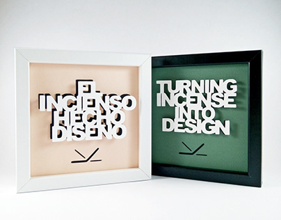 Paper Cut Lettering for in · sense slogan