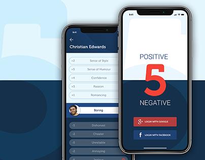 FiveApp - App Design