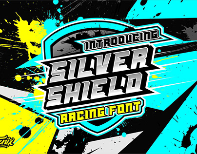 Silver Shield Racing & Sport Font