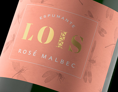 LOIS ESPUMANTE Mendoza Argentina Art & Packaging design