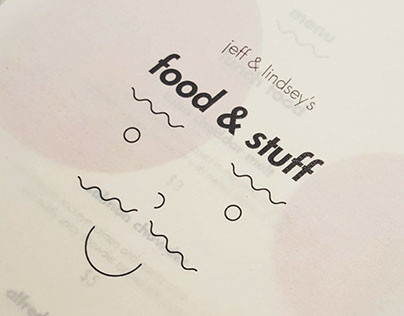 Food & Stuff Menu