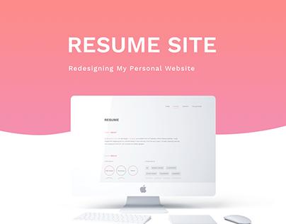 Resume Site