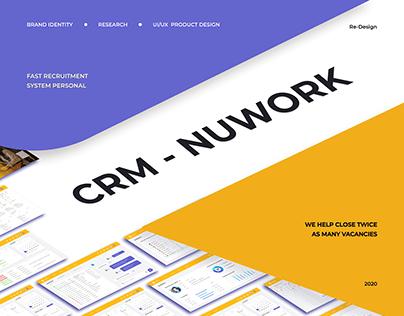 "CRM system ""NUWORK"""