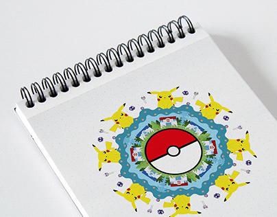 Graphic Design |Mandala Pokémon
