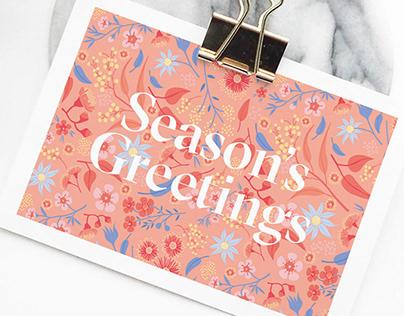 Australian flora Christmas Cards
