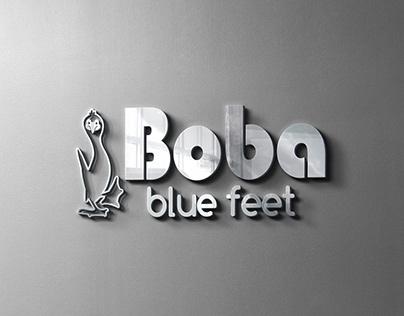 Boba Blue Feet