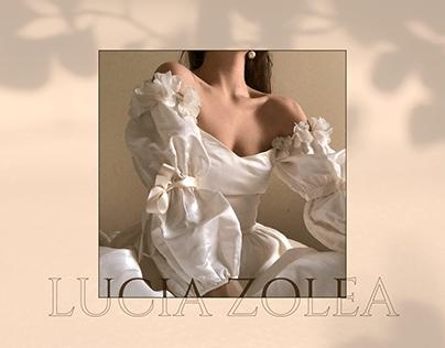 LUCIA ZOLEA E-COMMERCE REDESIGN ONLINE SHOP