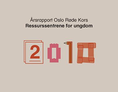 Årsapport Oslo Røde Kors Ressurssentrene for ungdom