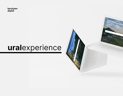uralexperience - concept website about ural mountains