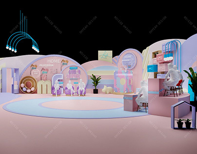 """Set Design for show """"Whose House Is This""""-2020"""