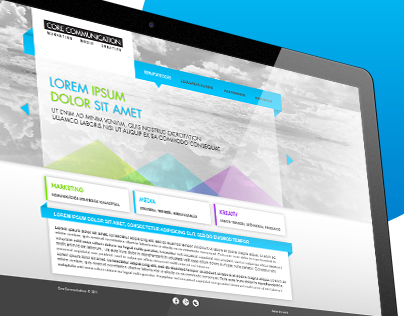 Various webdesign concepts