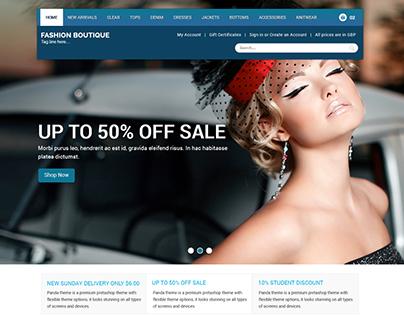 Fashion Boutique - Shopify Theme