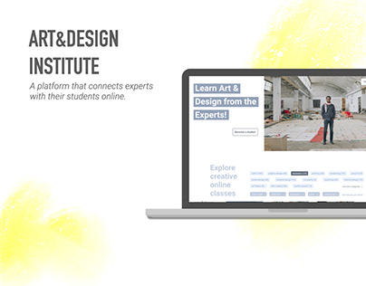UX Case Study: Platform for Creative Experts & Students
