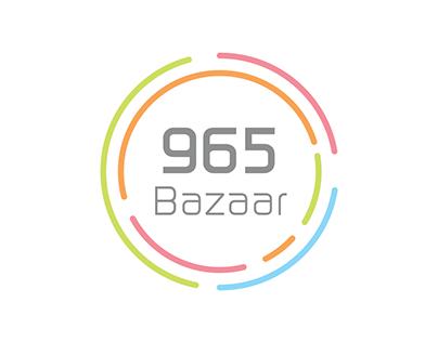 965 Bazaar Logo Design
