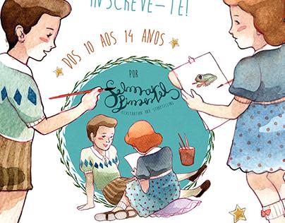 Ilustra á tua maneira workshop by Selma Pimentel