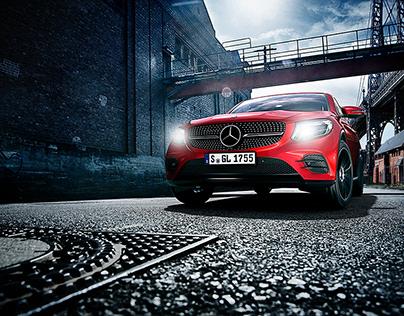 Mercedes Benz Retouch