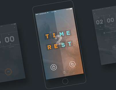 UI Design: Time2Rest App