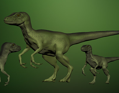 #3DSanta Raptor