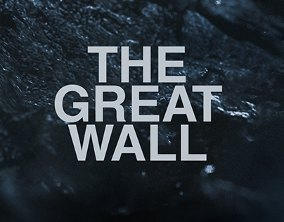 THE GREAT WALL - MAIN ON END PITCH