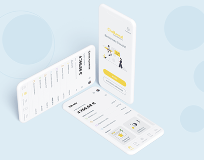 Mobile Banking App Re-design