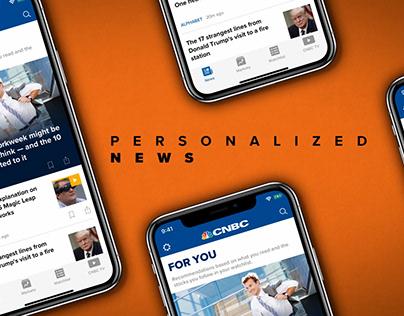 CNBC App Promo
