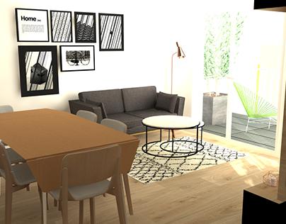 Appartement 37m2