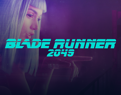 Blade Runner 2049 - Site UI Design