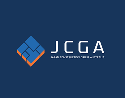 Japan Construction Group Australia Logo design
