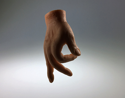 Grotesque Hands (Found Typography)
