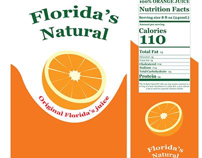 Florida's Natura juice re-brand