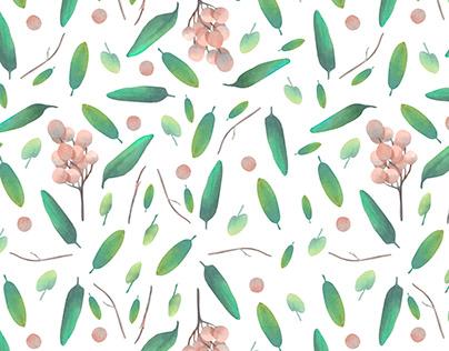 Little green pattern