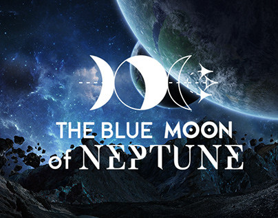 The Blue Moon Of Neptune LOGO